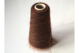 Superkid-Mohair Polyamide Merino 2667 donker bruin 100 gram