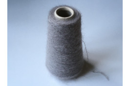 Superkid-Mohair Polyamide Merino 2606 grijs 100 gram