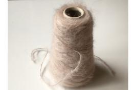 Kid-Mohair Wol Polyamide 1870 licht oudroze 100 gram op=op