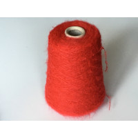 Kid-Mohair Acryl Polyamide 1849 salsa rood  200 gram