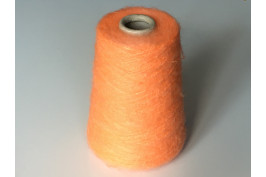 Kid-Mohair Acryl Polyamide 1875 mango oranje 200 gram