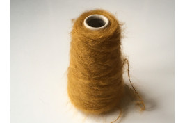 Kid-Mohair Wol Polyamide 1853 curry 100 gram