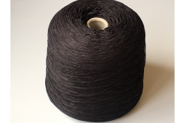 Acryl 1564 zwart grote cone ± 1,5 kilo