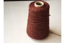 Wol Katoen 4024 roodbruin 200 gram