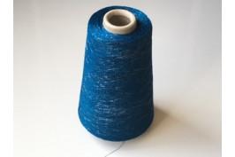 Viscose-Polyester-Metallic 1843 blauw-zilver 200 gram