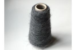 Mohair Superfine Alpaca Polyamide 4405 donker grijs 100 gram (op=op)
