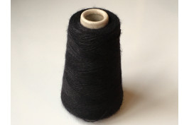 Superkid-Mohair met Merino  2697 zwart 200 gram