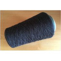 Katoen-Acryl 1602 grijs-zwart mele 200 gram