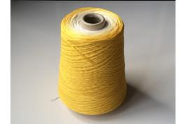 Katoen Acryl 0014 Garencake 390 gram / 1460 meter geel-wit