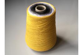 Katoen Acryl 0016 Garencake 390 gram / 1460 meter geel-zwart