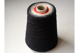 Katoen Acryl 0024 Garencake 390 gram / 1460 meter zwart-rood