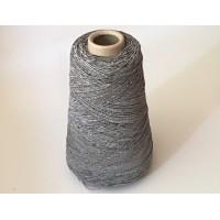 Katoen-Polyester 1457 zilver grijs 200 gram