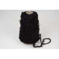 Katoen-Acryl 1635  zwart boa garen 200 gram