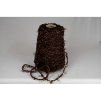 Katoen-acryl-1641  truffel bruin boa garen
