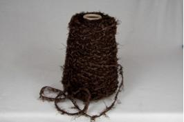 Katoen Acryl 1641 truffel bruin boa garen 200 gram