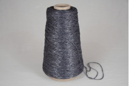 Viscose-Acryl 1468 glitter staal blauw 200 gram