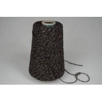 Wol-Acryl 1589 zwart grijs bruin 200 gram