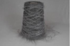 Mohair-Acryl 1592 grijs 200 gram