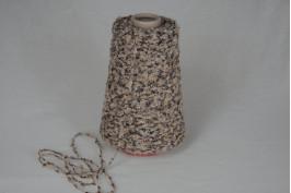 Wol-Acryl- Polyamide 1359 camel bruin wit 200 gram