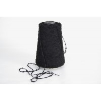 Wol-Acryl 1208 zwart 200 gram