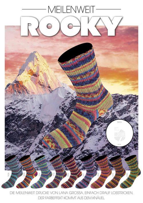 meilenweit sokkenwol rocky